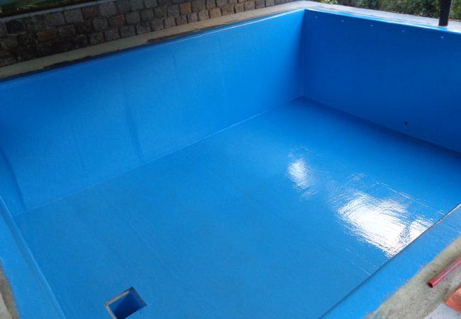 Poolbeschichtung den pool richtig beschichten for Pool mit folie auskleiden