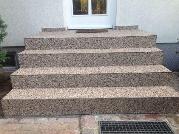 treppe steinteppich fertig mx protec. Black Bedroom Furniture Sets. Home Design Ideas